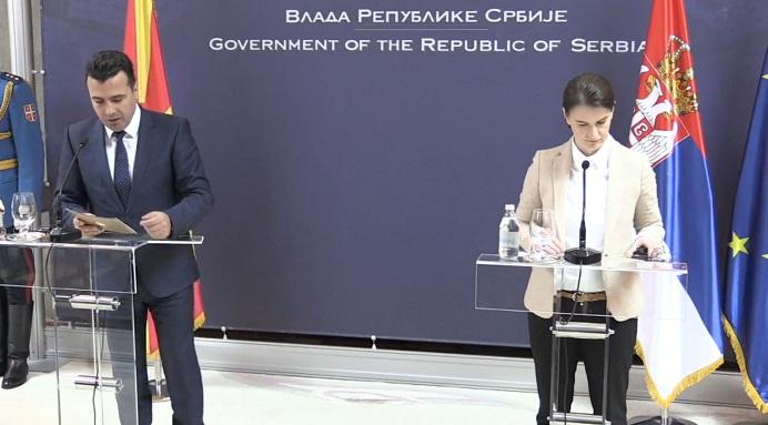 Zaev ua thotë serbëve në shtëpi: S'e tërheqim njohjen e Kosovës