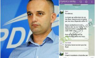 """Zëvendësministri i PDK-së pranon se u mobilizua """"ta rrëzojë Shpend Ahmetin"""""""