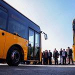 Autobusët e rinj lihen në borë e në shi