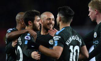 Manchester City thellon kryesimin në Premierligë [Video]