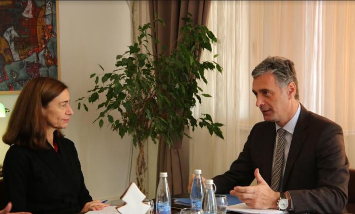 Ambasadorja Willems mbështetë Kryeprokurorin Lumezin