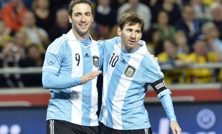 Messi kërkon Higuainin tek Argjentina