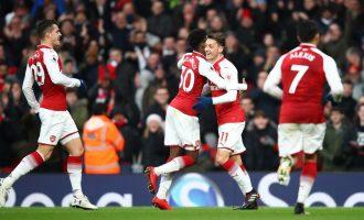 Nota e Granit Xhakës në fitoren e Arsenalit [Foto]