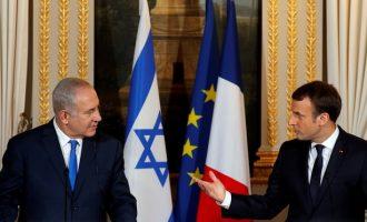 Netanyahu takon Macron, por nuk pajtohen për Jerusalemin