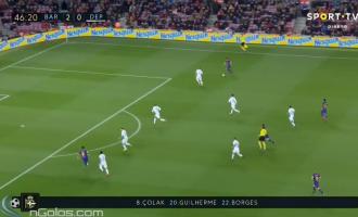 Barcelona me aksion tiki-taka, shënon golin e tretë [Video]