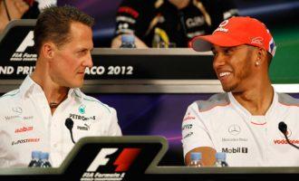 Hamilton me mesazh prekës për Schumacherin