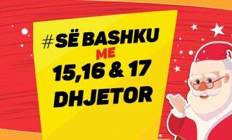 Si asnjëher më parë, këtë vikend #së bashku hapim vitin e ri edhe në Kosovë!