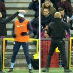 Guardiolas nuk i pëlqejnë Krishtlindjet – i nervozuar i heq kapelën lojtarit të Cityt [Video]