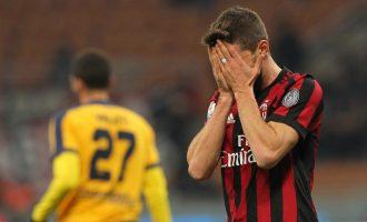 Kriza e thellë e Milanit: 7 humbje në 17 ndeshje – ecuria më e dobët që nga viti 1982