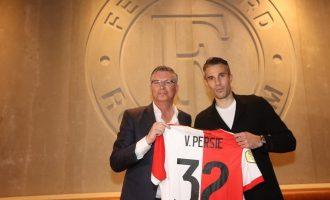 Van Persie kthehet në shtëpi – nënshkruan me Feyenoordin