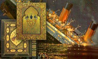 """""""Rubairat"""" në fund të detit – libri më i shtrenjtë i botës u mbyt me Titanikun"""