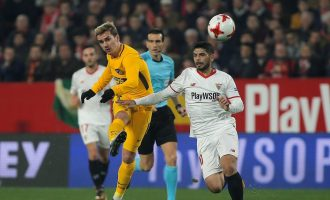Katër gola në sfidën Sevilla – Atletico Madrid, kjo skuadër siguron gjysmëfinalen [Video]