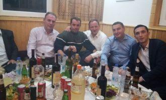 Meze e muhabet për Fatmir Limajn dhe bashkëpunëtorët e tij