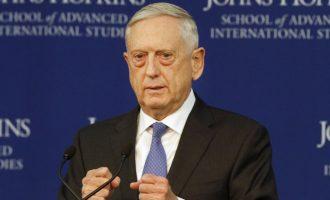 Sekretari Mattis bën të njohur strategjinë e re të mbrojtjes