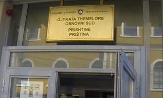 Vdes gjyqtari i Gjykatës Themelore në Prishtinë