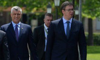 Presidentët Thaçi e Vuçiq takohen sot në Shkup