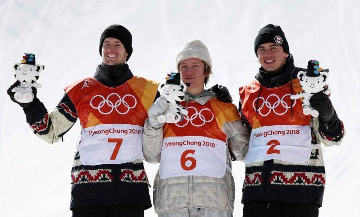 Kampioni i parë i lindur këtë milenium dhe fituesit e ditës së dytë në PyeongChang