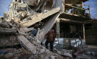 Asad bombardon spitalet në afërsi të Damaskut