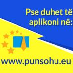 Pse duhet të aplikoni në www.punsohu.eu!