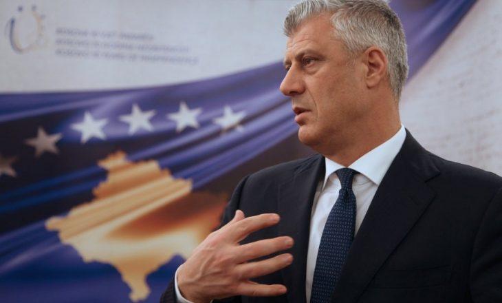 """Thaçi paralajmëron marrëveshje """"historike"""" me Serbinë brenda këtij viti"""