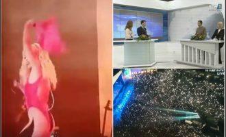 Si dështoi shteti ta transmetojë koncertin 20 minutësh të Rita Orës
