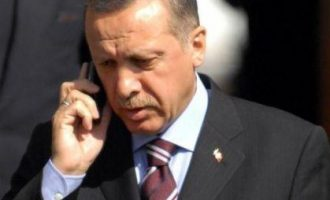 """Erdogan dhe Macron bisedojnë në telefon për """"Degën e Ullirit"""""""