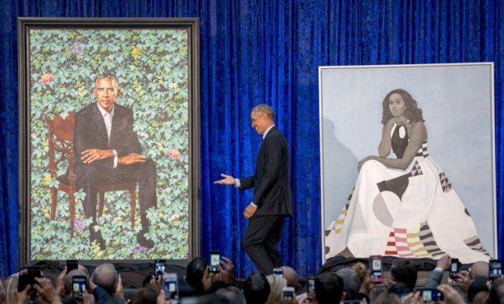 Prezantohen portretet zyrtare të çiftit Obama