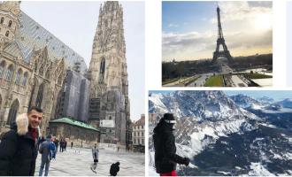 Vazhdojnë udhëtimet e djalit të presidentit – pushimet dimërore në tri shtete