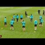 """Realit i ka """"humbur topi""""– shikoni çka bëjnë lojtarët në stërvitje"""