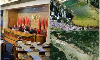 Parlamenti i Malit të Zi tregon tri mundësitë sesi mund të ndryshohet demarkacioni të cilin e kanë votuar
