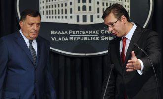 Tahiri: Edhe Vuçiqi po punon platformën panserbe në Ballkan
