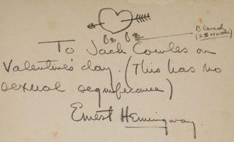 Letrat më të bukura të dashurisë të shkruar nga poetë deri tek presidentë