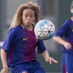 """Xavi Simmons """"jashtëtokësori"""" i ri në Barcelonë – 14 vjeç, 1 milion ndjekës (VIDEO)"""