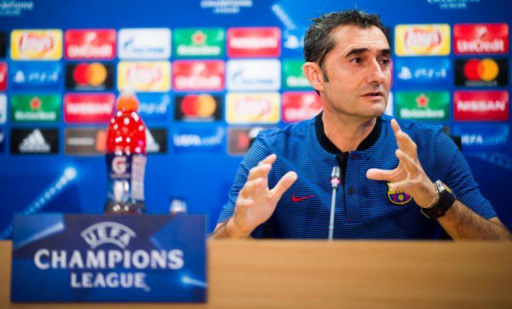 Valverde tregon nga çfarë duhet të ketë kujdes Barcelona për sfidën ndaj Chelseat