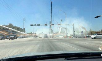 Publikohet video ku shihet shembja e urës që la edhe të vdekur