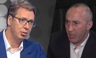 Vuçiq takohet me Thaçin por pas takimit merret me Haradinajn