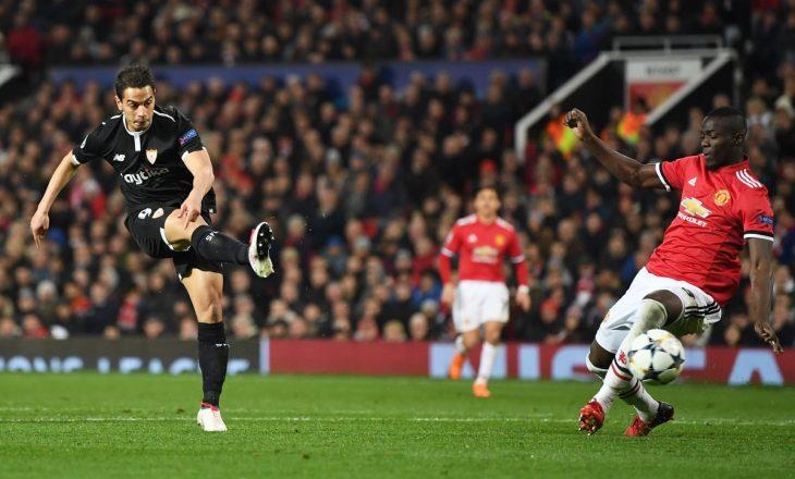 """United mposhtet në """"Old Trafford"""", Sevilla në çerekfinale"""