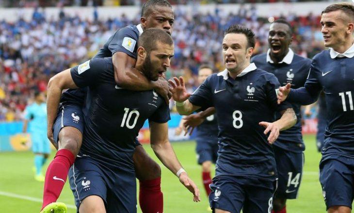 Benzema kokëfortë  nuk do të pajtohet me lojtarin e Francës
