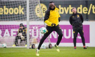 Bolt realizon gol në stërvitje me Dortmund (Video)