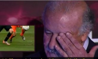 Del Bosque përlotet me golin fitues të Iniestas në Botëror (Video)