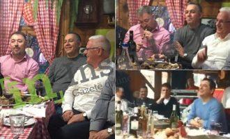 Bëhen bashkë Lushtaku, Grabovci dhe Haraqija – darkojnë dhe shkelin ligjin