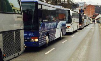 Autobusët Podujevë – Prishtinë hyjnë në grevë