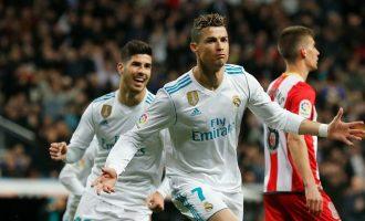 Ronaldo realizon katër herë në ndeshjen me nëntë gola [Video]
