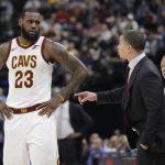 LeBron James mund të mbetet pa trajner – hospitalizohet Tyronn Lue (VIDEO)