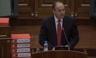 Hoxhaj: Nuk duhet ta lëshojmë seancën pa e votuar Demarkacionin