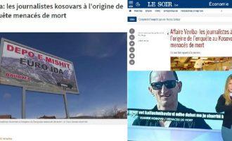 Kërcënimi i ekipit të Insajderit, kryelajm në Belgjikë
