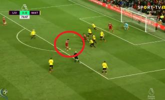 Salah dhuron spektakël në stilin e Leo Messit, kompleton het-trikun (VIDEO)