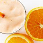 Smothie me portokall dhe vanilje për mëngjes