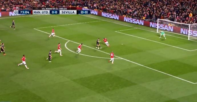 "Sevilla shtang Manchester Unitedin në ""Old Trafford"" [Video]"