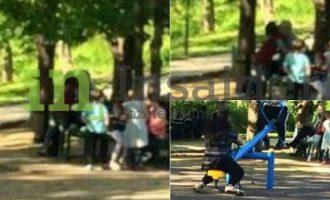 Fotografitë e personit të arrestuar për pedofili në Parkun e Qytetit në Prishtinë